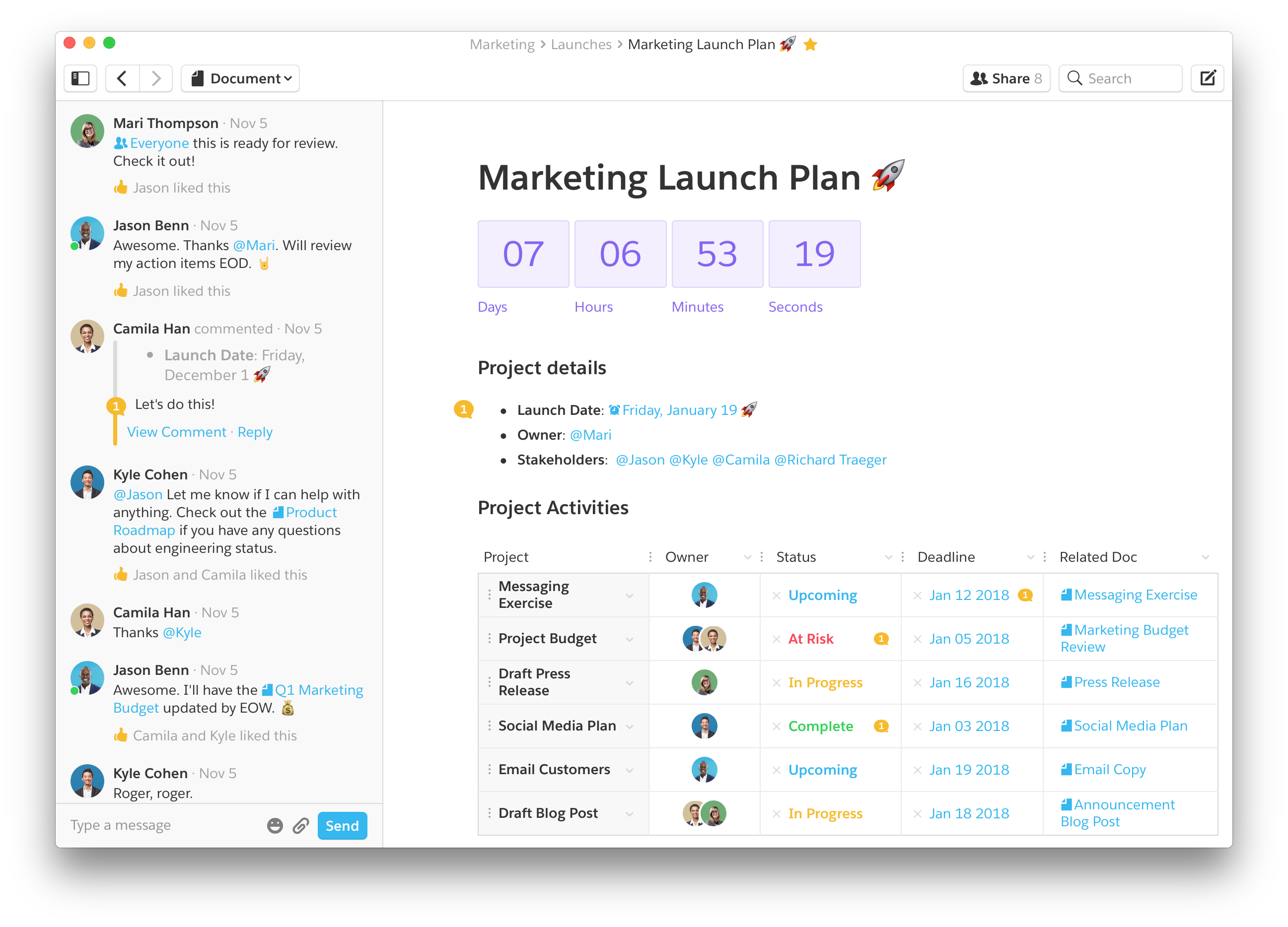 Quip - We made a project tracker to save you from email hell