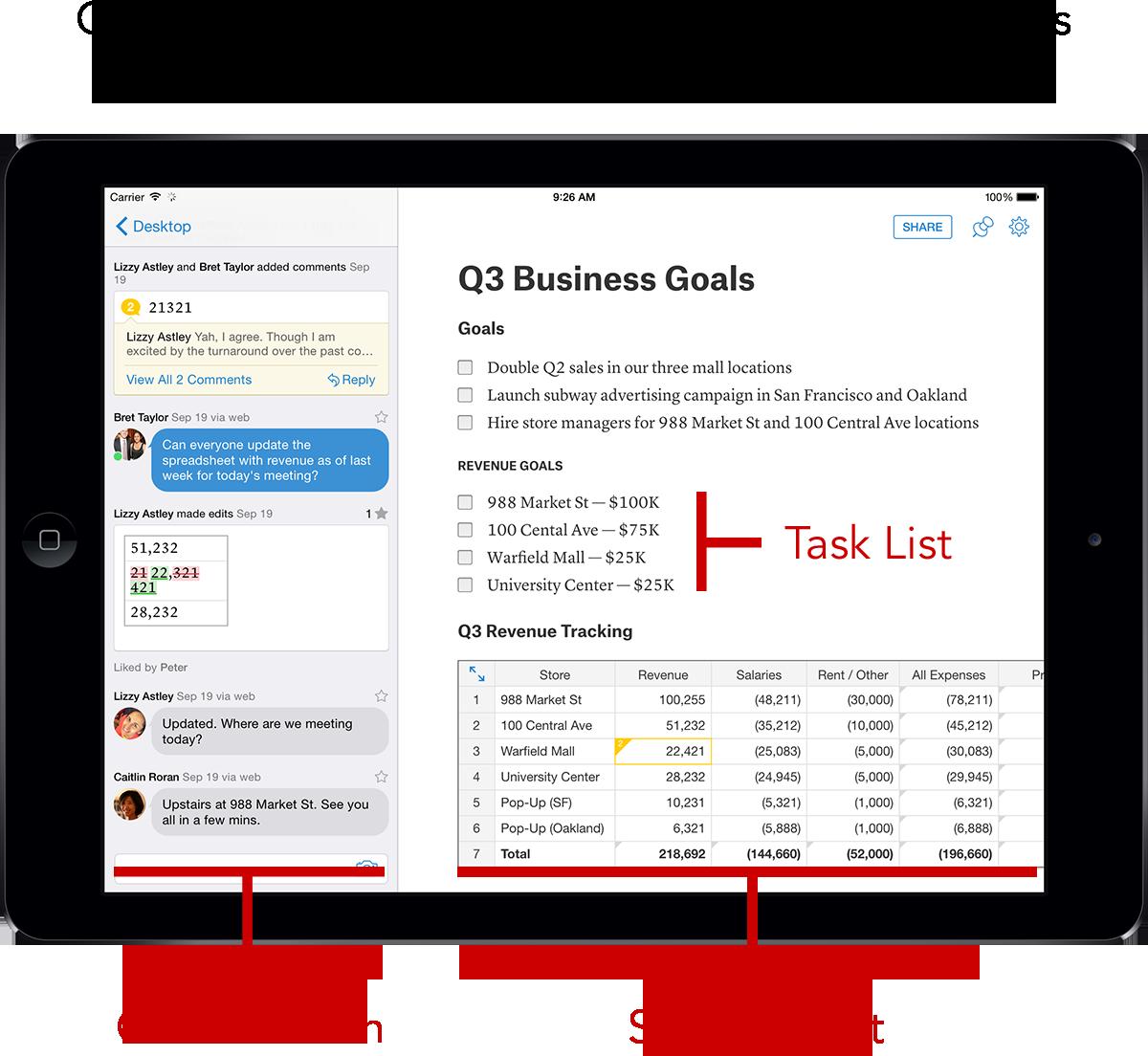 Quip - Introducing Quip Spreadsheets